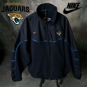 Nike Jax Jaguar NFL Official Full Zip Jacket Black